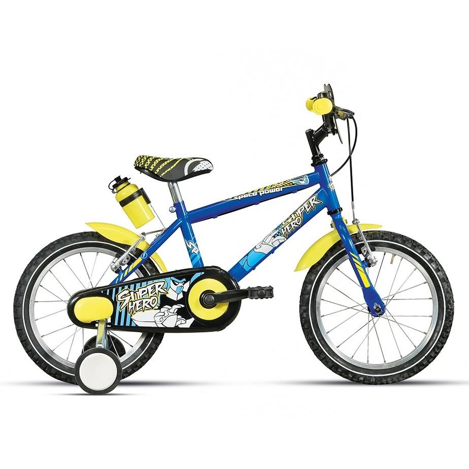 Montana-Superhero-16-bici-bambino-rotelle